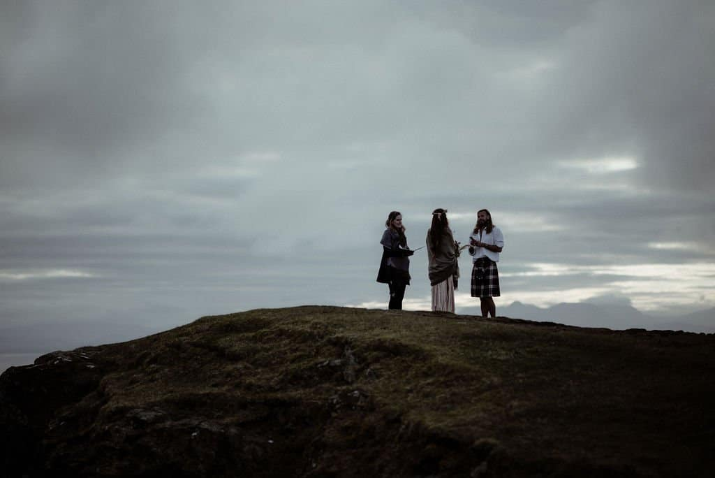 Quiraing Elopement Ceremony on the Isle of Skye